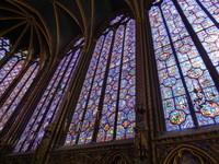 Vitraux Chapelle haute
