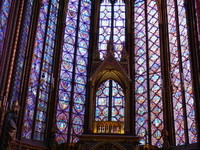 Vitrail Chapelle haute