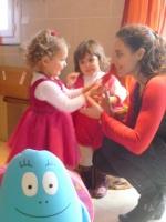 la princesse Chloé et la jolie coccinelle Maelys