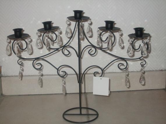 chandeliers centre de table
