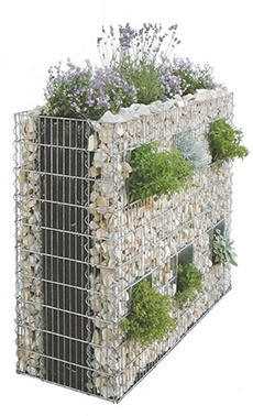 gabion 04 gabion vegetal etre soi photos club. Black Bedroom Furniture Sets. Home Design Ideas