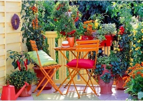 balcon-fleuri-jardin-potager-fleurs - 300 idées déco balcon ...