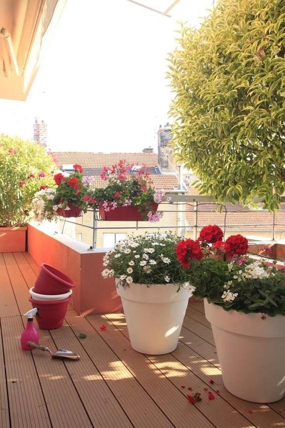 Jardini Re Balcon Accrocher Rampe Pots Blancs 300 Id Es
