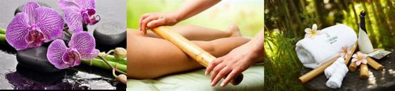 Massage Bien-etre aux BAMBOUS