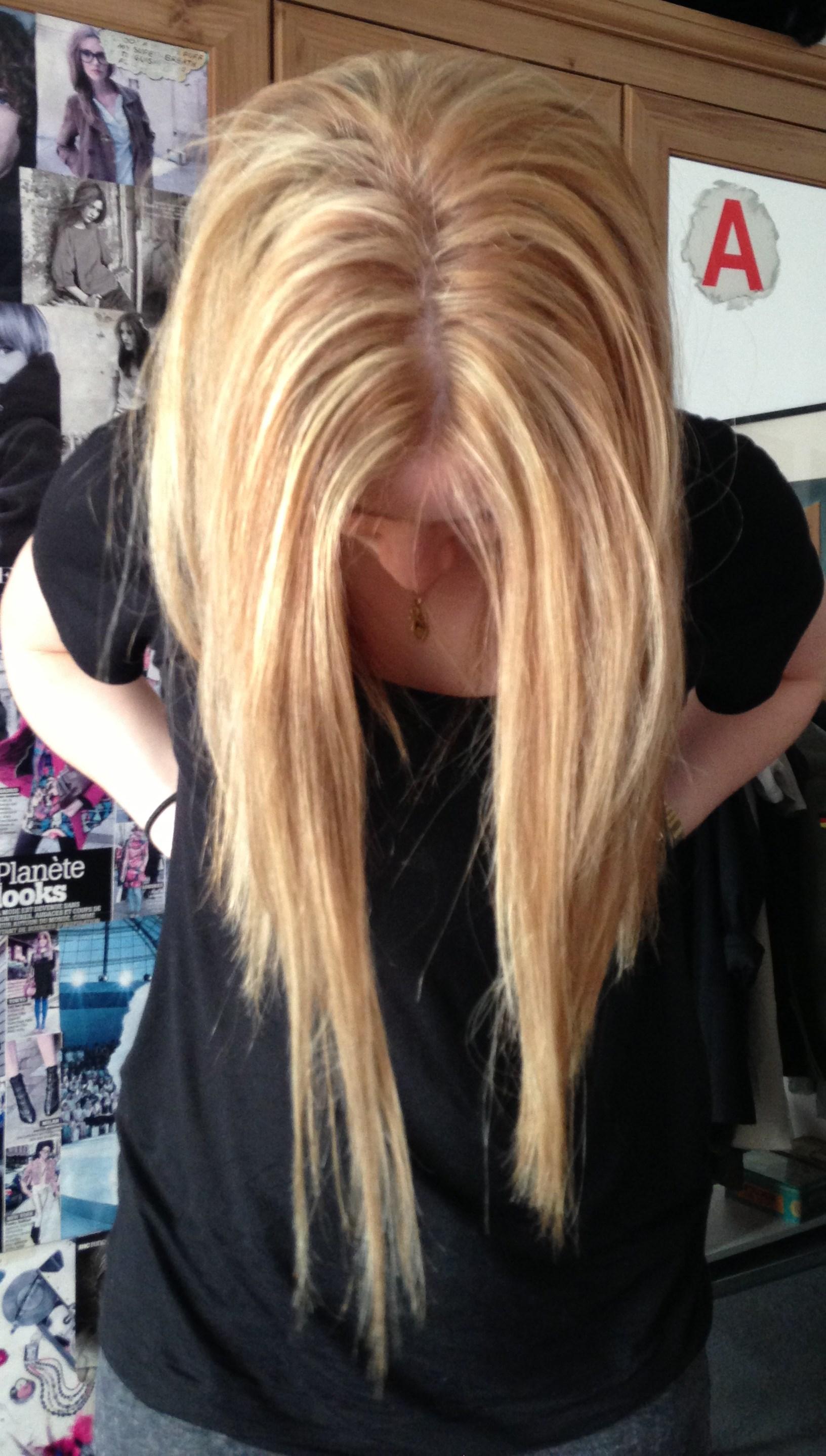 Couleur de cheveux pour enlever le roux