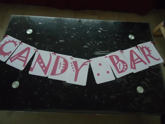 guirlande candy bar