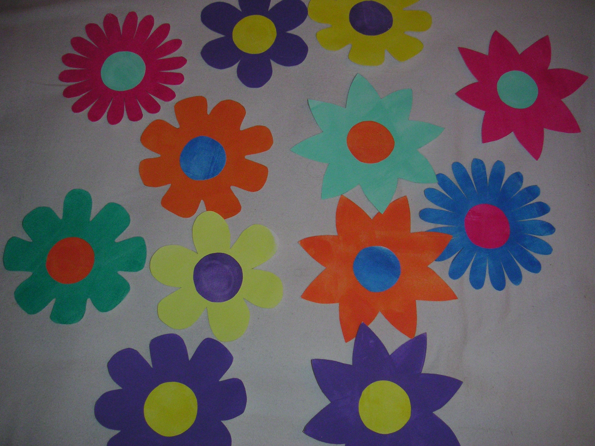 Fleurs En Papier D Co Fabrication Maison Pef81