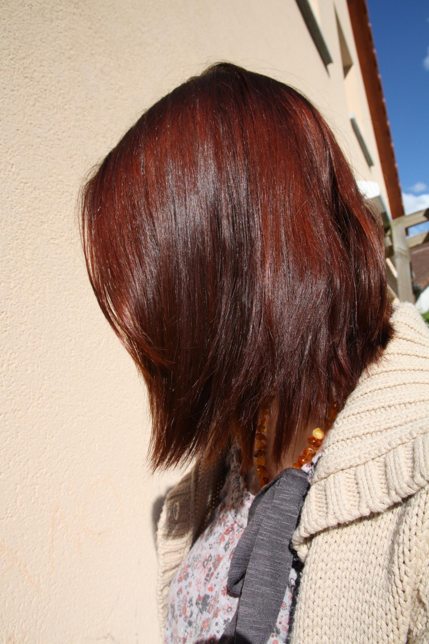 Couleur de cheveux prune fonc fashion designs - Coloration auburn fonce ...