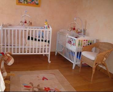Fraiche Chambre Jumeaux Bebe ~ Idées de Design Maison et Idées de ...