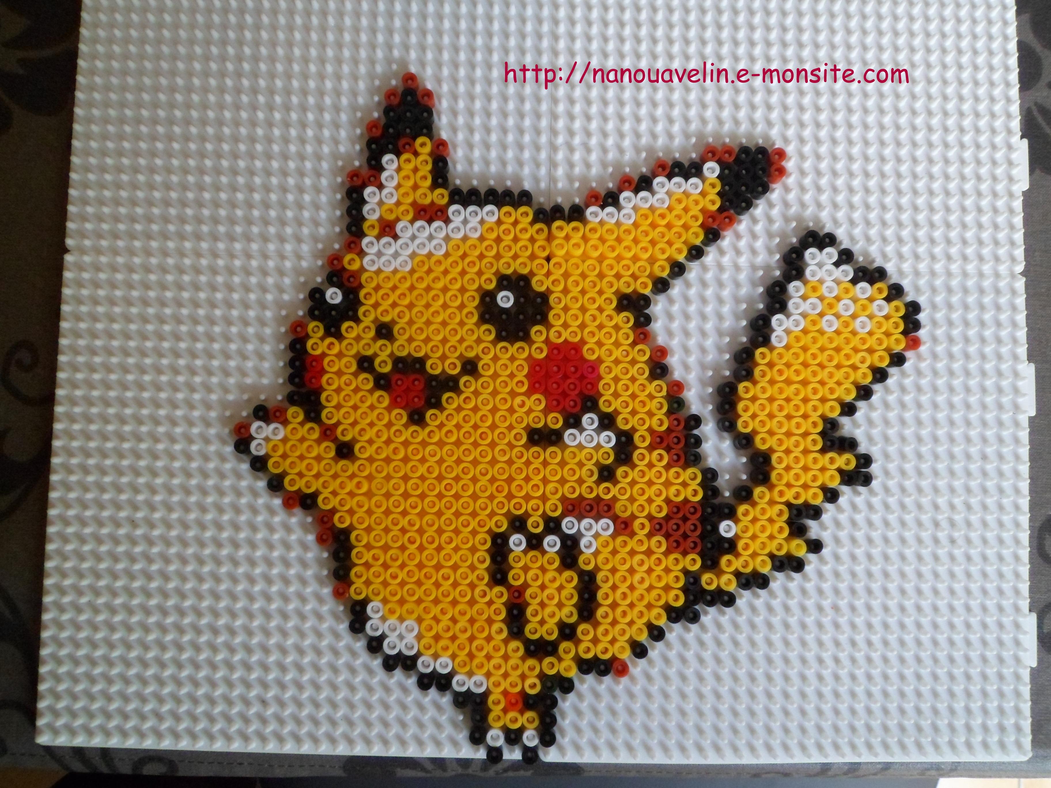 Modèle Perle Hama Pokémon