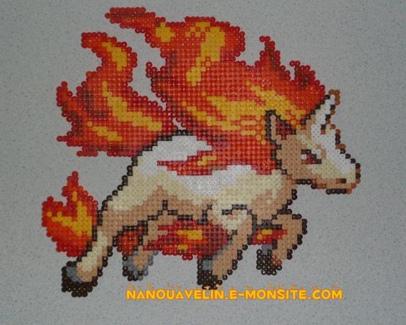 Perles Pokemon À Nanouavelin Hama Nidoran Repasser 6gb7fy