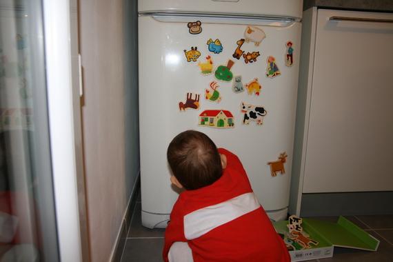 Chouette d'autres magnet' à coller sur le frigo!