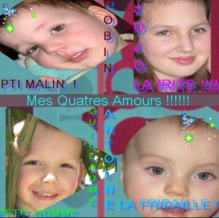 mes 4 amours 2!