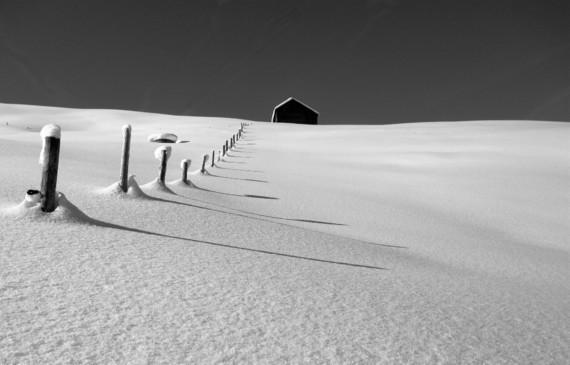 Solitude glacée...