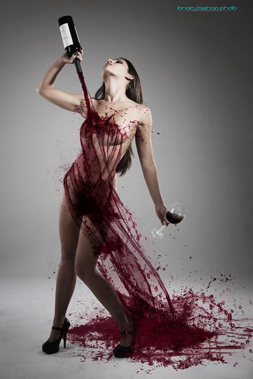 Robe lie de vin