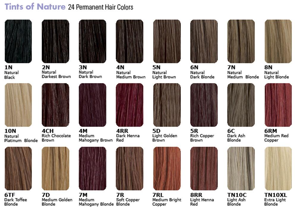 Catalogue coloration cheveux