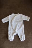 pyjama 1 mois Kitchoun blanc 2 e