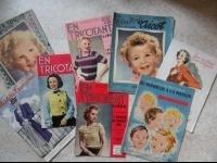 8 magazines tricot années 40  (19e fdc compris) LBC ESTELLE chantal