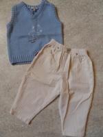IN EXTENSO Pantalon  2 e +débardeur18 mois ( Voir description)