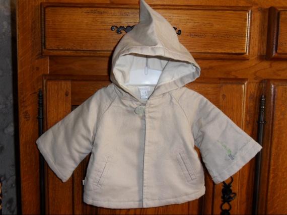 OBAIBI  Manteau intérieur damassé (très bonne qualité) 5 e