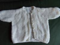 Gilet tricoté main 2.50 e
