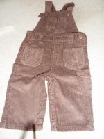 salopette-velours-marron- 12 mois 1 e