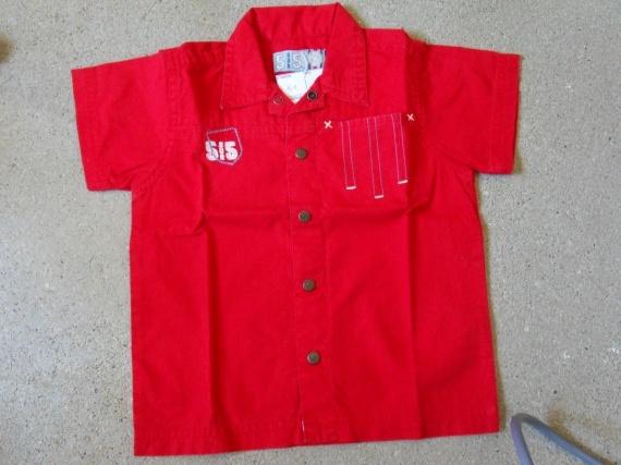 chemise-5x5 12mois 1.50e