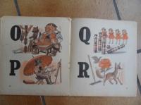 intérieur du livre abécédaire