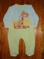 3e pyjama girafe 12 mois