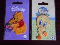 5€  Trois patchs 2 Winnie et 1 Titi le 19.05.12
