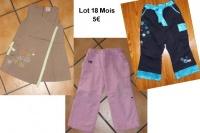 5€ Lot 18 mois Soeur de Malliablues le 15.12.12