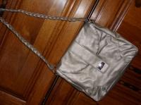 5€ sac neuf argenté