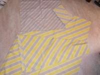 5€ le drap et les deux oreillers Emile le 11.03.15