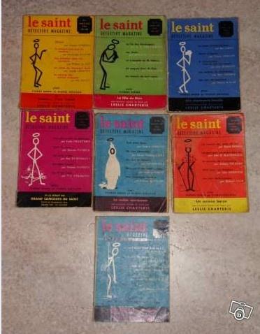 5€ le lot de 7 magazines LE SAINT à PatrickSzadek le 28.05.13 LBC