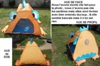 14€ Tente Anti UV vert Baudet ChristellePellegrin le 07.08.13 LBC