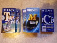 Cassettes VHS neuves sous cellophane