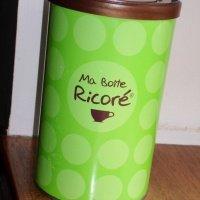 1€ Collector - boite en métal vert RICORE