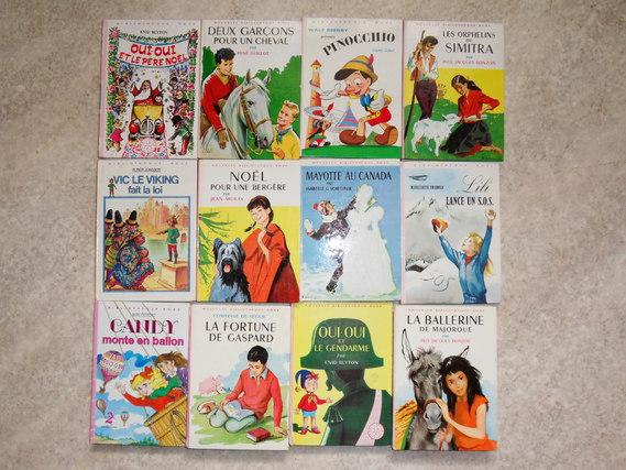 Bibliothèque rose , 1.50€ le livre ou 5€ les 4 , au choix différents titres disponibles