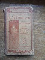 5€ livre d'arithmétique datant de 1904 du primaire au certificat d'études