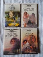 2€ le lot de 4 romans ( format poche )