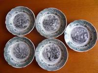 45e le lot de 5 assiettes Napoléon Bonaparte
