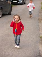 blouson porté par Eloise 4 ans ( Elo l'a porté deux ans )
