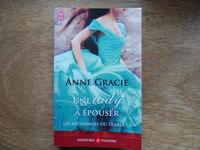 1.50€ une lady à épouser de Anne Gracie