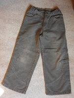 2€ Catimini jean gris beige Taille ajustable BE