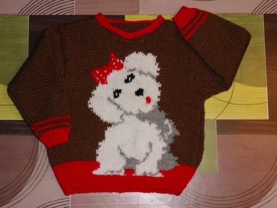 tricot main 4 ans 5€