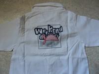 dos de la chemise WAM
