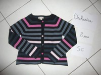 gilet orchestra 8 ans 4€