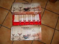 23€ les 11 flutes en cristal d'arques