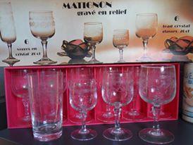 24€ lot 12 verres à vin Le Cloirec Bruno Le 26.04.16