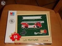 5€ Puzzle Camion pompier